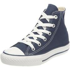 Converse Chuck Taylor All Star Junior Navy Textile Trainers