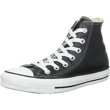 Converse Chuck Taylor All Star Junior Black Leather Trainers