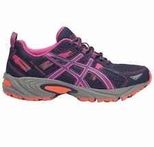 Asics Gel Venture-5 WOMEN'S TRAIL RUNNING SHOES,BLUE/PINK-Size US 6, 6.5, 7 Or 8