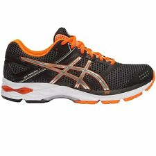 Asics Gel Phoenix-7 MEN'S RUNNING SHOES, BLACK/SILVER/ORANGE - US 11.5, 12 Or 13