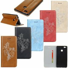 Fashion Flip Leather Wallet Card Stand Case Cover For Huawei Ascend P9 / P9 Lite