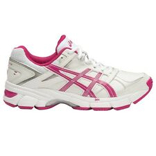Asics Gel 190TR WOMEN'S CROSS TRAINING SHOES,WHITE/PINK-Size US 6, 6.5, 7 Or 7.5
