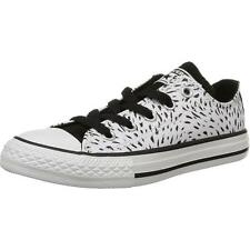 Converse Chuck Taylor All Star Animal Junior White Print Textile Trainers