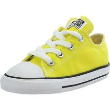 Converse Chuck Taylor All Star Infant Fresh Yellow Textile Trainers