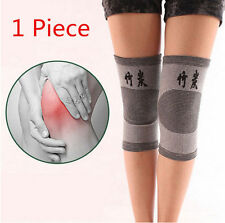1x Gym Charcoal NEW Guard Knee Support Brace Bamboo Bike Kneecap Protector