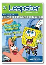 LeapFrog Leapster SpongeBob Squarepants Saves the Day - Nickelodeon - Complete