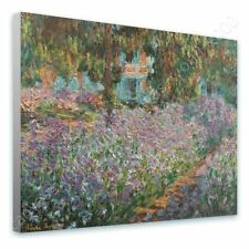 READY TO HANG CANVAS Irises Claude Monet Framed Paintings Oil Paintings Prints