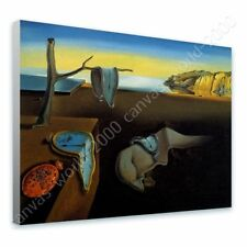 READY TO HANG CANVAS The Persistence Of Memory Melting Clock Salvador Dali