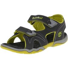 Timberland Adventure Seeker Youth Dark Grey Synthetic Sandals