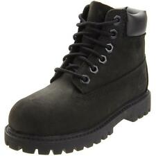 Timberland 6 Inch Classic Boot Youth Black Nubuck Boots