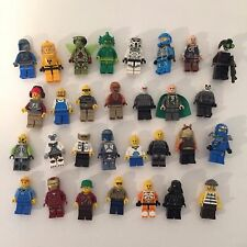 LEGO Star Wars Marvel and Other Lot of 30 Minifigs