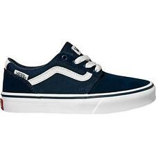 Vans Chapman Stripe Youth Dress Blue Suede Trainers