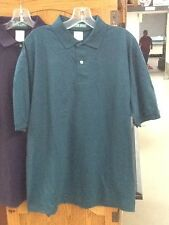6 Shirts BULK! NEW! Men's Outer Banks Size L GREEN Polo Casual Shirt