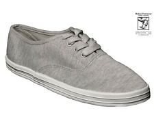RABEN RABEN Canvas Sneaker Lace Up 628 Grey Knitted