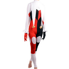 Gotham Girls Harley Quinn Costume Custom Made Cosplay Sexy Jumpsuit Fancy Dress