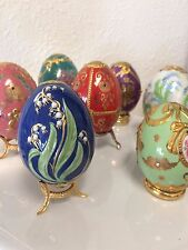 Egg Collection by Franklin Mint: Russian Faberge Imperial Jeweled