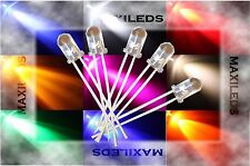 1000x 5mm LED round very bright LEDs Resistor 5mm