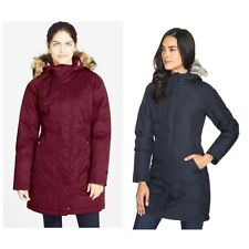 NWT THE NORTH FACE Women's Arctic Down Parka Coat Navy Garnet Red XS S M L XL