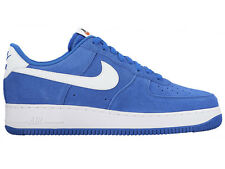 NEW MENS NIKE AIR FORCE 1 LOW BASKETBALL SHOES TRAINERS HYPER COBALT / HYPER COB