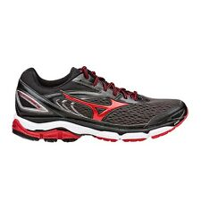 Mizuno Wave Inspire-13 MEN'S RUNNING SHOES, GREY/RED - Size US 7, 8, 8.5 Or 9