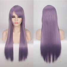 80cm Fashion Full Wig Long Straight Wig Cosplay Party Costume Anime Hair Hot