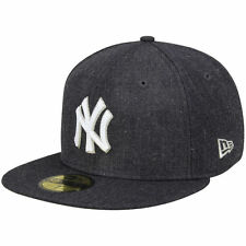 New Era New York Yankees Crisp 59FIFTY Fitted Hat - Heathered Navy