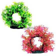 Artificial Plastic Tree Gate Fish Tank Aquarium Background Decor Ornamment
