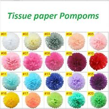 12''Tissue Paper Pom Poms for Wedding, Christmas & Party Decorations-Pack of 5