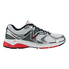 New Balance 940v2 MEN'S RUNNING SHOES, SILVER/RED*USA Brand- US 10.5, 11 Or 11.5