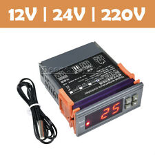 DC12V/24V AC220V Digital Temperature Controller Thermostat WH7016C LCD Display
