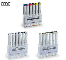 Copic TOO Sketch Markers 12 Colors 1 set - Basic,CG,WG 3 Types-Japan Marker Lot