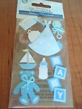 BABY BOY SHOWER SPECIAL DELIVERY STORK SUMMER OUTFIT BABY TAGS OVERALLS NIP