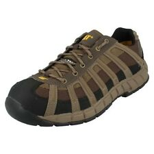 Mens Caterpillar Steel Toe Shoes Switch ST S1