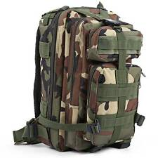 Outdoor Military Army Tactical Backpack Camping Hiking Trekking Camouflage Bag