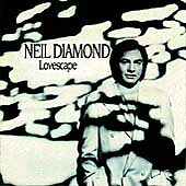 Lovescape by Neil Diamond (CD Columbia) VG Disk