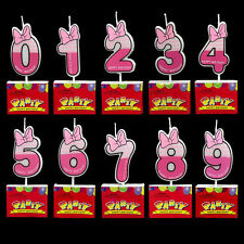 Number Candle Party Candle Baby Girl Boy Kids Happy Birthday Cake Candle Decor