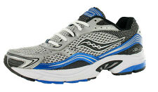 Saucony Grid Fusion 3 Athletic Mens Shoes Silver/black/royal Blue Size