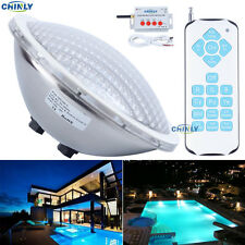 AC12V Par56 25W RGB Remote Swimming LED Pool Lights Bulb waterproof