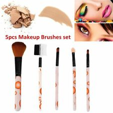 5pcs/set Professional Facial Makeup Brushes Female Cosmetic Powder Brushes EG