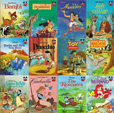 DISNEYS Wonderful World Of Reading Picture Story Books - VARIOUS