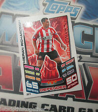 Match Attax 2012-13 12/13 ULTRA RARE! Kieran Richardson Sunderland ERROR MINT