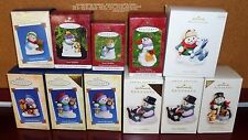 HALLMARK SNOW BUDDIES 1998 #1 2000 2002 2004 2005 2006 COLORWAY 2007 YOUR CHOICE