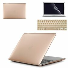 """Hard Case + Keyboard Cover Sink Laptop Shell Sleeve For Macbook Pro 13.3"""" 15.4"""""""