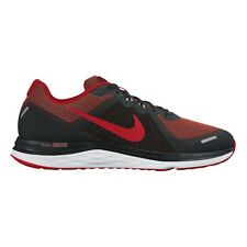 Nike Dual Fusion X2 MEN'S RUNNING SHOES, BLACK/RED/WHITE - Size US 7, 8, 9 Or 10