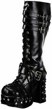 Pleaser Charade Lace-Up Demonia by Womens Charade-206 Boot- Choose SZ/Color.