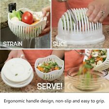 Multi Practical Salad Cutter Bowl Easy Salad Fruit Vegetable Washer And Cutter G