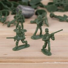100pcs/Pack Military Plastic Toy Soldiers Army Men Figures 12 Poses Gift TS