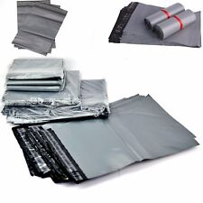 "MAILING GREY BAGS PLASTIC POSTAGE POST PACKING POSTAL COURIER 6x 9"",9x12"",14x19"""