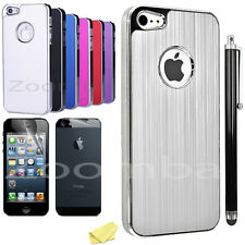 Aluminum Ultra-thin Metal Bumper Luxury Phone Case Cover For iPhone 5S 5