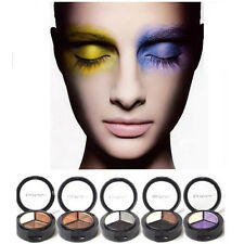 New 3 Colors Eyeshadow Natural Smoky Cosmetic Eye Shadow Palette Set Make Up Hot